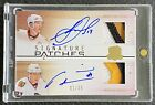 JONATHAN TOEWS MARIAN HOSSA 2009-10 UD THE CUP Autograph DUAL PATCH AUTO 01 35
