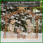 6ft Lighted Christmas Nativity Scene Outdoor Yard Decoration with 190 LED Lights