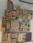 HUGE LOT 125+ Scrapbook Stamps Stampin Up Easter Valentines Fathers Mothers Day
