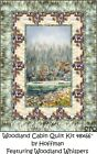Woodland Whispers Cabin Quilt kit by Hoffman 48 66