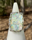 Or Paz Creations Magical Vine Leaves Roman Glass Statement Ring Jewelry 6