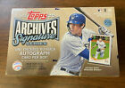 2020 Topps Archives Signature Active Series Baseball Box. Factory Sealed.