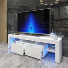 51 63 TV Stand Cabinet Media Console Entertainment Center w Drawers Shelves