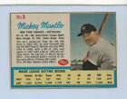 1962 MICKEY MANTLE Post Cereal 5 Hand Cut Ad Back Life Mag GREAT SHAPE CLEAN