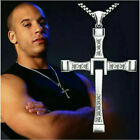 Sterling Silver Cross Pendant Necklace Jewelry Fast and Furious Dominic Toretto