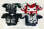 Lot of four Youth Size Football Shoulder Pads Equipment Protection new used JR