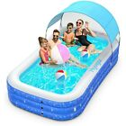 Hyvigor Hy P3 3m Family Inflatable Swimming Pool w Sunshine Canopy For Kid Adult