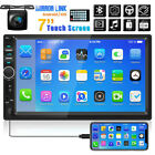 2DIN 7 HD Car Stereo Radio MP5 Player Bluetooth Touch Screen With Backup Camera