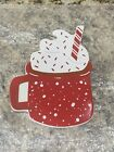 Coton Colors Happy Everything LARGE HOLIDAY PARTY COCOA MUG Ltd Edition NWT