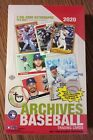 2020 Topps Archives Hobby Box - Case Fresh Factory Sealed - 2 On-Card Autographs