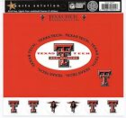 Texas Tech Cardstock Scrapbooking Stickers FRAMES