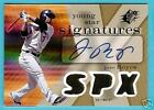 JOSE REYES 2007 SPX YOUNG STARS AUTOGRAPH AUTO