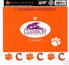Clemson University Scrapbooking Sticker FRAMES