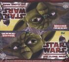 Topps Star Wars Clone Wars Widevision Hobby Box
