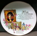20th  Avon Anniversary Plate Mrs Albee  Gorgeous VGC Free Shipping to USA