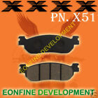 BRAKE PAD for YAMAHA RZ50 AT115 TW125 YP125 DT175 TW200