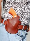LEATHER PANCAKE HOLSTER FOR TAURUS 17 605 617 650 651