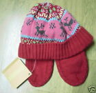 NWT GYMBOREE COLORFUL VILLAGE FAIRISLE RED HAT 3-6 months  Free US Shipping