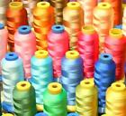 50 X LG CONE POLY MACHINE EMBROIDERY THREADS FOR VIKING