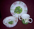 Child's Frog Lily Pad Mug Bowl Plate Set Essex H Outlaw