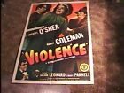 VIOLENCE MOVIE POSTER 47 FILM NOIR GREAT GRAPHICS