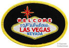 WELCOME TO FABULOUS LAS VEGAS SIGN EMBROIDERED IRON ON PATCH NEVADA CASINO new