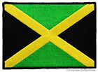JAMAICA FLAG EMBROIDERED PATCH KINGSTON JAMAICAN RASTA iron on APPLIQUE new