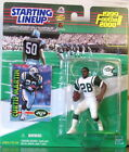 1999 Curtis Martin New York Jets Starting Lineup mint in pkg w/ football card