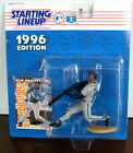 1996 Ken Griffey Jr Seattle Mariners Starting Lineup in pkg with Baseball Card