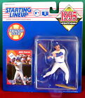 1995 Mike Piazza Extended L.A. Dodgers Starting Lineup new in pkg w/ BB card
