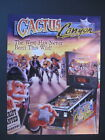 Cactus Canyon Pinball Machine Flyer Mint not COMICS
