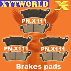 Front Rear Brake Pads Honda ST1100 ST 1100 PanEuropean