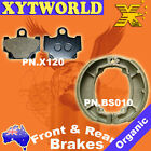 Front Rear Brake Pads Shoes Yamaha RX135 RX 135 13X 81