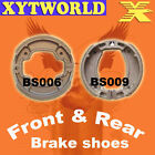 Front Rear Brake Shoes for Yamaha AG200 AG 200 E 3GX6 1993
