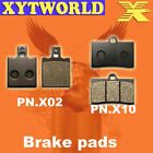Front Rear Brake Pads for CAGIVA N1 125 1997