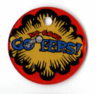 NO GOOD GOFERS Pinball Promo Plastic KEY Chain FOB LOGO
