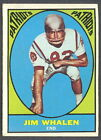 1967 TOPPS FOOTBALL 11 JIM WHALEN PATRIOTS EX