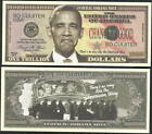 FEDERAL NOBAMA NOTE TRILLION DOLLAR LOT OF 10 BILLS