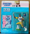 1996 Isaac Bruce Autographed on Bubble Starting Lineup