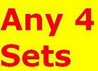 Any 4 Sets LARGE 40 MACHINE Embroidery THREAD FREE SHIP