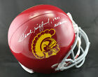 Frank Gifford SIGNED USC F S Helmet + 1951 All American PSA DNA AUTOGRAPHED