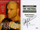 Randy Couture SIGNED Becoming The Natural UFC 1st Edition PSA DNA AUTOGRAPHED