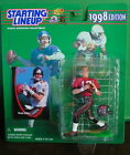 1998 Trent Dilfer TampaBay 1st Year Starting Lineup mint in pkg w/ football card