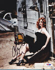 Christina Hendricks SIGNED 8x10 Photo Joan Holloway Mad Men PSA DNA AUTOGRAPHED