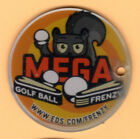 MEGA GOLF BALL FRENZY Pinball Promo Plastic Key Chain FOB 2006 NO GOOD GOFERS
