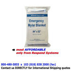 Emergency Solar Thermal Mylar Blanket wholesale 40 blankets