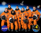 NASA SPACE SHUTTLE DISCOVERY STS 120 CREW 8x10 PHOTO