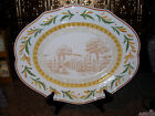 NIB FITZ & FLOYD GRAND HAVEN LARGE TOILE PLATTER
