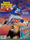 Barry Sanders Lions SIGNED Sports Illustrated October 1991 COA!