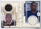 LaDainian Tomlinson Deuce McAllister 2001 Fleer Genuine Tandems Future Swatch 50